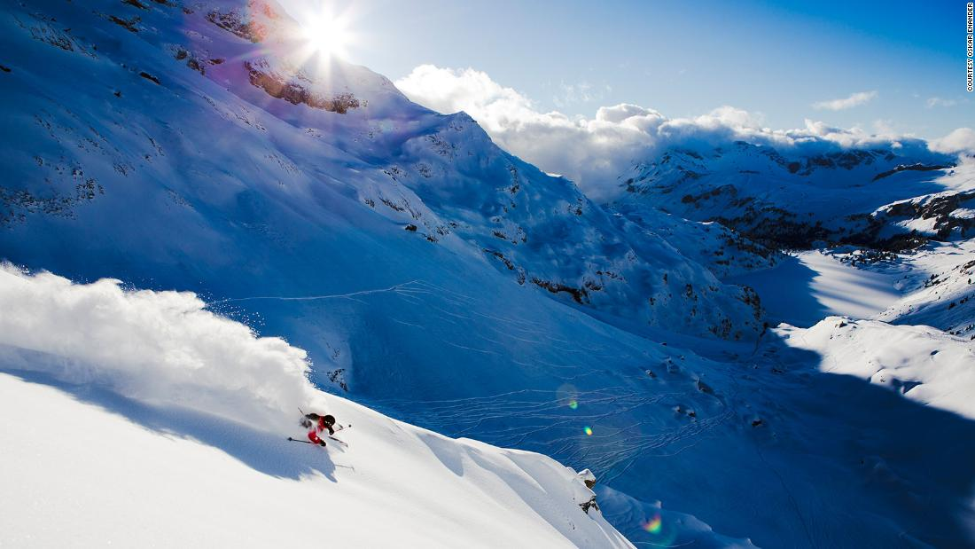 Pictures of powder: Meet the color blind ski photographer