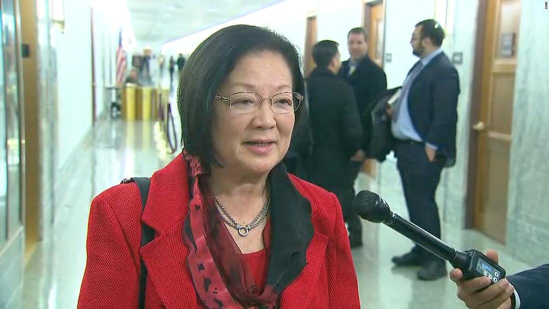 Sen. Hirono calls Trump a 'misogynist' - CNN Video