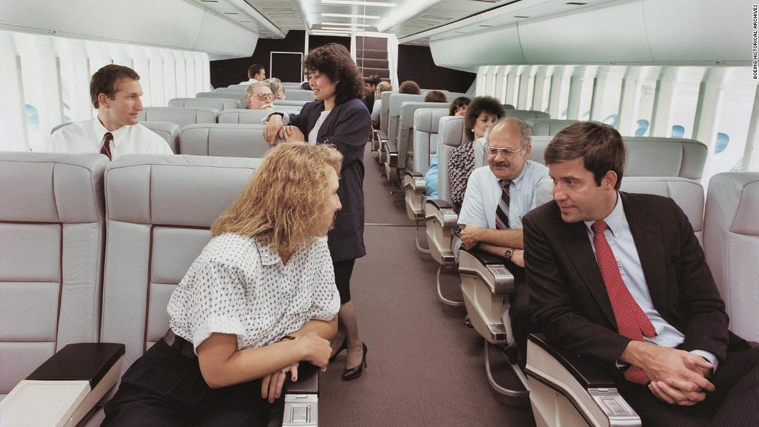 Airplane discos and gyms: Inflight ideas that never took off