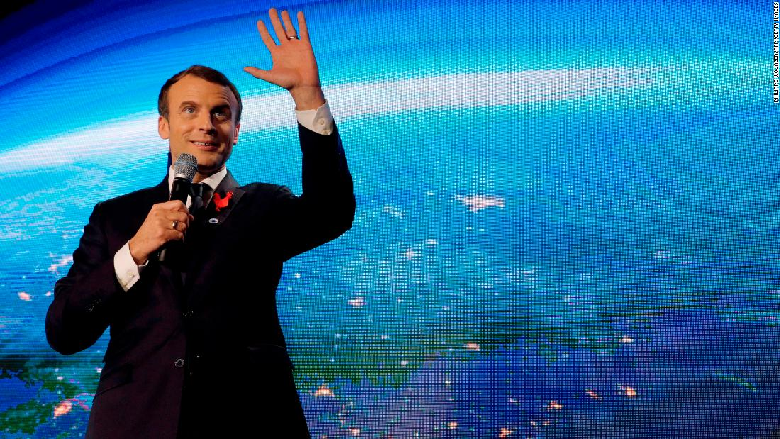 Macron entices US scientists to France with climate grants as summit starts