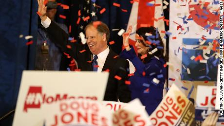 Black voters turned out for Jones