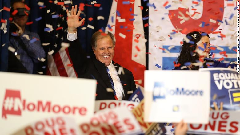 Sen. Doug Jones vows 'independent review' of Trump's Supreme Court nominee