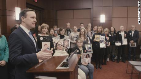 20 dead children shaped this senator's mission
