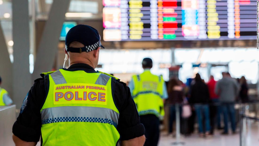 Australian child sex offender stopped at airport under new 'world-first' laws