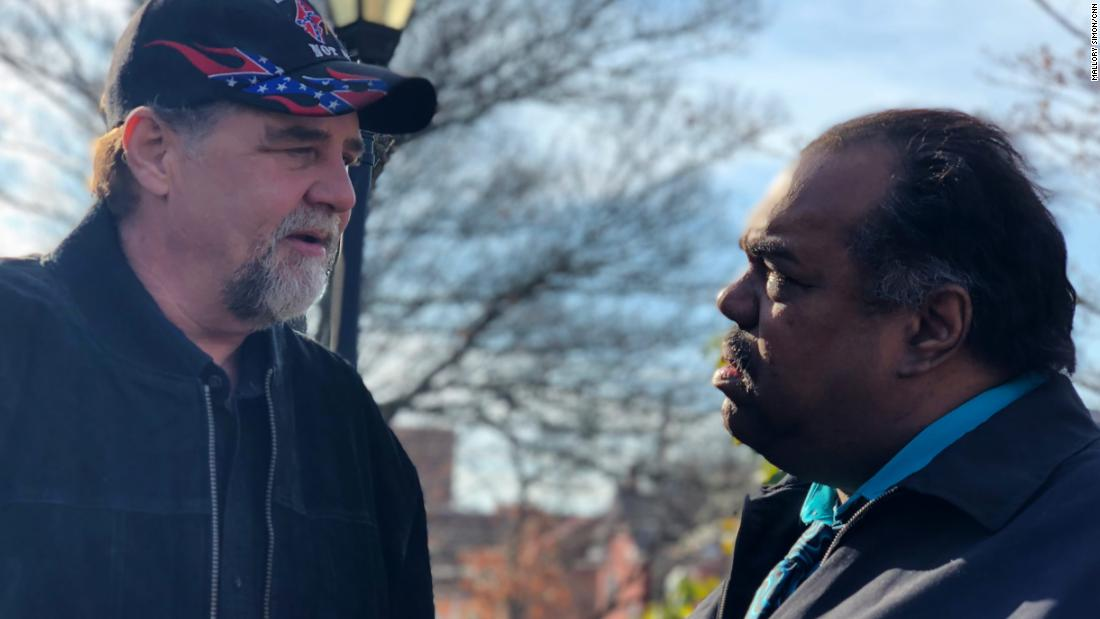 When a Klansman met a black man in Charlottesville