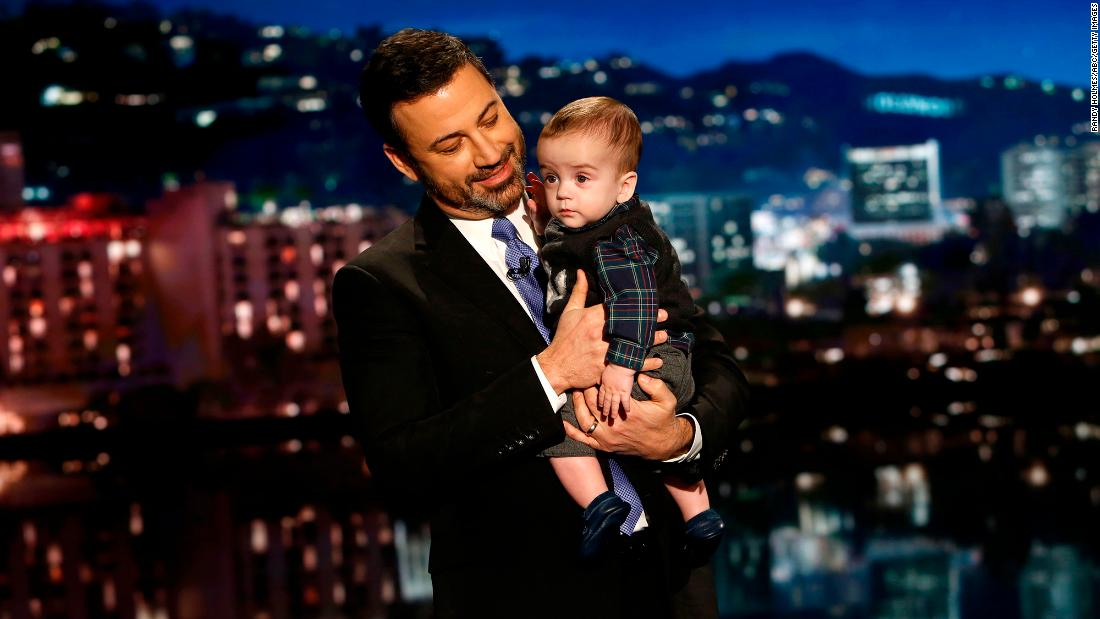"Late-night talk-show host Jimmy Kimmel <a href=""http://money.cnn.com/2017/12/12/media/jimmy-kimmel-son-late-night-health-care/index.html"" target=""_blank"">brought his young son, Billy, onto his show</a> on Monday, December 11. Billy was born in April with serious heart issue, and he recently had a second surgery."