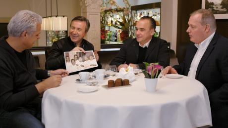 Family Meal NYC with chefs Daniel Boulud, Jean-Georges Vongerichten, Eric Ripert, and Jacques Torres