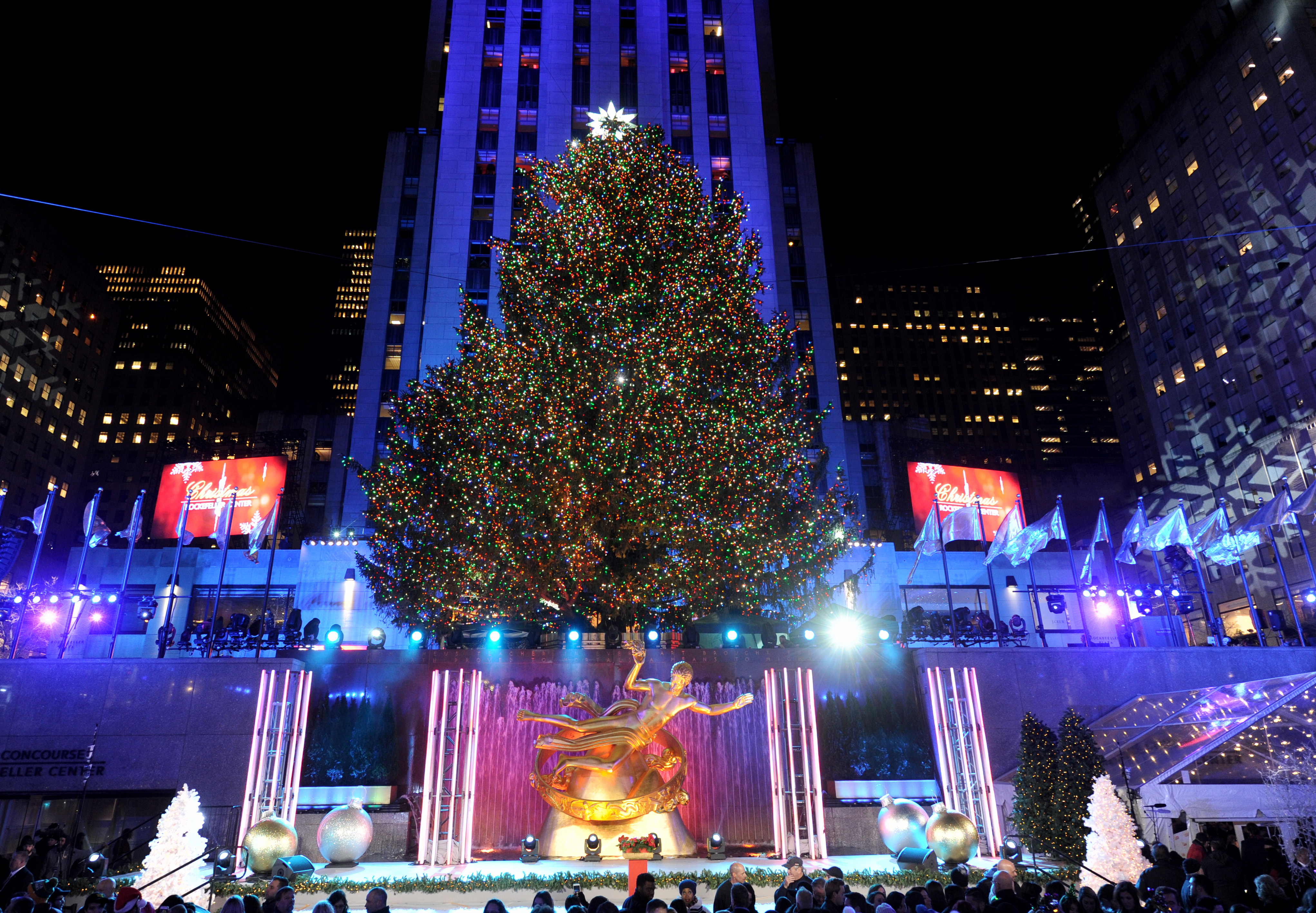 Rockefeller Center At Christmas Tips History And Things To Do Cnn Travel