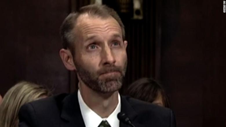 Senator grills nominee on qualifications