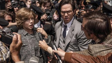 Michelle Williams, Mark Wahlberg in 'All the Money in the World'
