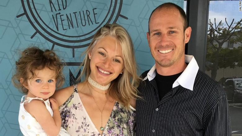 Cal Fire engineer Cory Iverson died while fighting the Thomas Fire in Ventura County. He leaves behind his pregnant wife, Ashley, and toddler daughter Evie.