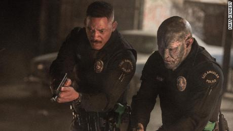 Will Smith, Joel Edgerton in 'Bright'