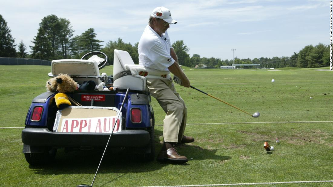 The life of golf trick shot artist Paul Barrington