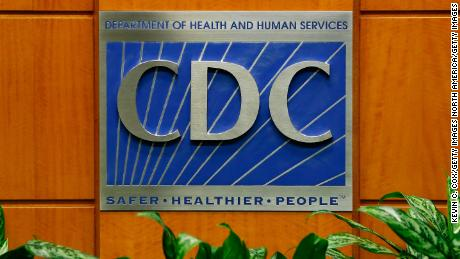 ATLANTA, GA - OCTOBER 05:  A podium with the logo for the Centers for Disease Control and Prevention  at the Tom Harkin Global Communications Center on October 5, 2014 in Atlanta, Georgia. The first confirmed Ebola virus patient in the United States was staying with family members at The Ivy Apartment complex before being treated at Texas Health Presbyterian Hospital Dallas. State and local officials are working with federal officials to monitor other individuals that had contact with the confirmed patient.  (Photo by Kevin C. Cox/Getty Images)