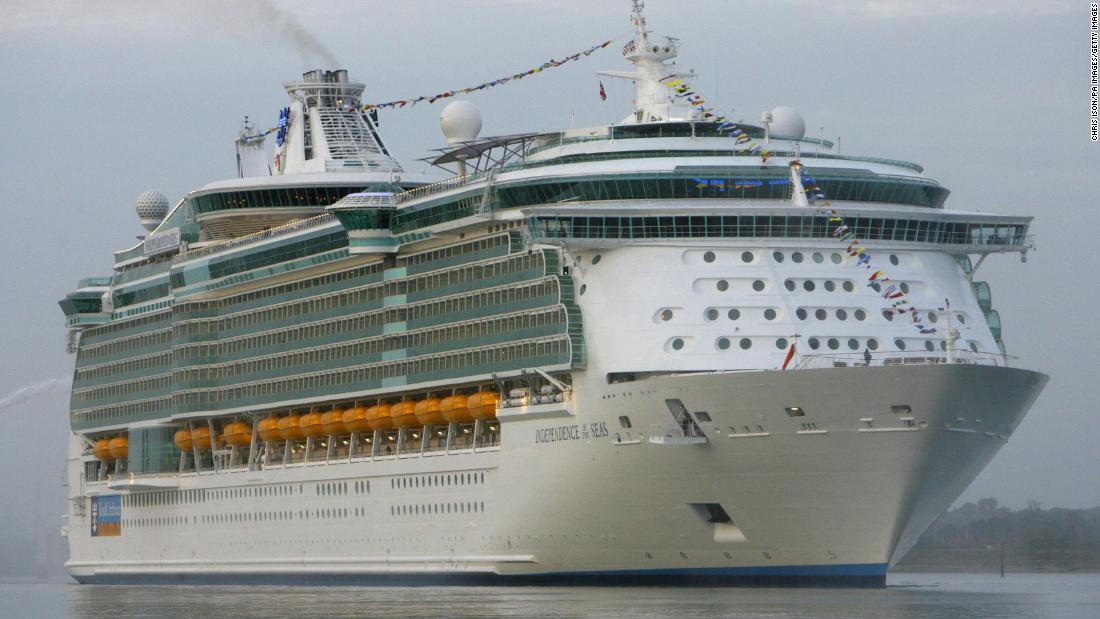 Hundreds fall ill during Royal Caribbean cruise