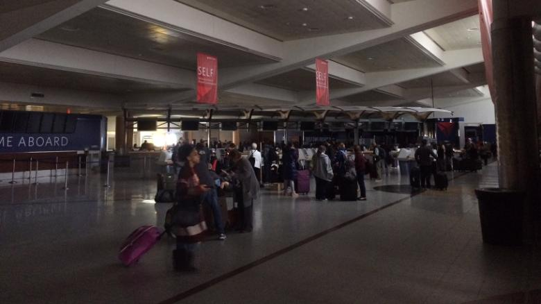 See world's busiest airport in chaos