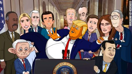 Showtime Sets February Premiere for Our Cartoon President