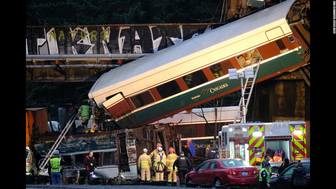 The National Transportation Safety Board sent a team to investigate the derailment.