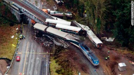 What the train derailment felt like