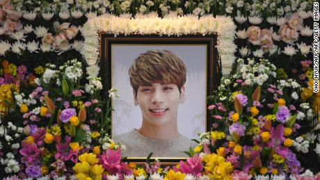 Jonghyun: Fans mourn death of SHINee K-pop star