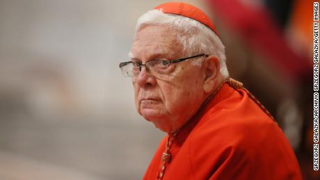 Pope prays for merciful final judgment for Cardinal Law