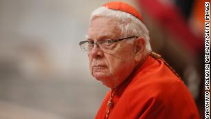 Cardinal Bernard Law, symbol of church sex abuse scandal, dead at 86
