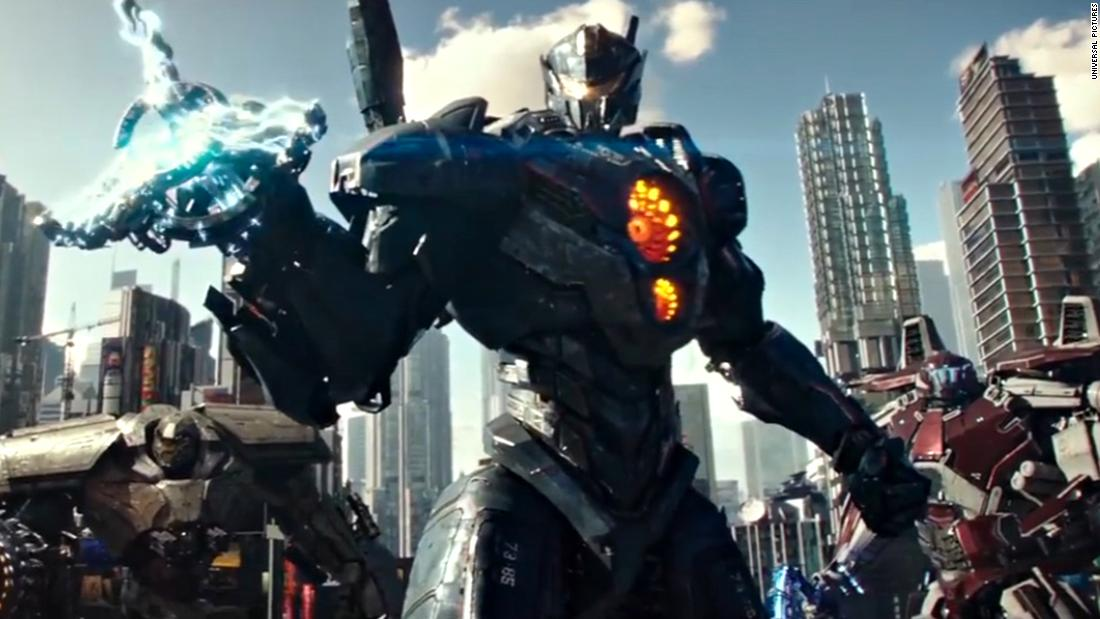 """Star Wars"" actor John Boyega stars in <strong>""Pacific Rim: Uprising,""</strong> the follow up to Guillermo del Toro's hit sci-fi film. It comes to theaters in February 2018."