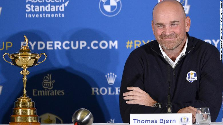 Bjorn: Ryder Cup represents best of Europe