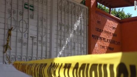 MEXICAN JOURNALIST GUMARO PEREZ AGUILANDO WAS KILLED BY A GROUP OF ARMED MEN AT HIS SON'S SCHOOL