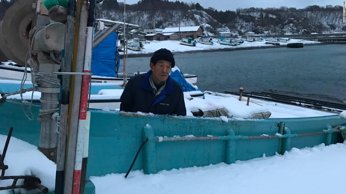 Akira Funatsu, a Japanese fisherman, says the ships that have washed up weren't properly equipped for long-distance fishing.