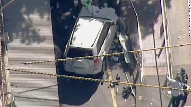 Melbourne: Car 'barreled through pedestrians'
