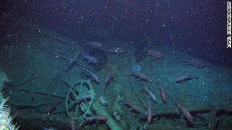"The submarine has been described as ""remarkably well preserved."""