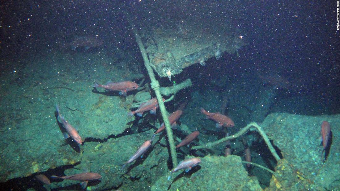 Australian submarine found after 103 years