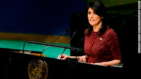 Nikki Haley on Iran: 'We must not be silent'
