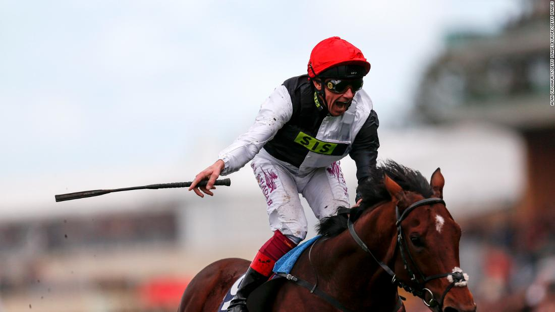 Later that day, Dettori also rode a winner in the Champions Stakes, guiding the favorite Cracksman home with ease.