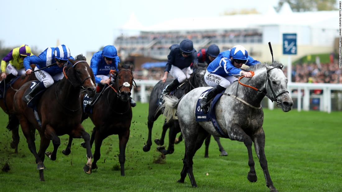 It was Robert Winston aboard Librisa Breeze that triumphed in the the QIPCO British Champions Sprint Stakes, also held at Ascot in October.