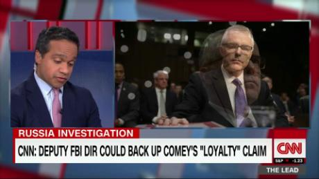 McCabe could corroborate Comey 'loyalty pledge' story