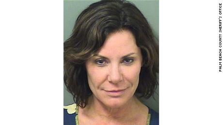 Palm Beach police released Luann de Lesseps' mugshot after her arrest on Sunday morning.