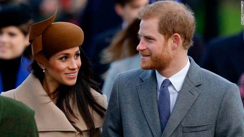 Meghan Markle joins royal family for church