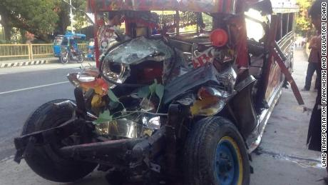 wenty Catholic pilgrims were killed and nine others injured after an SUV collided with a jeepney in the northern Philippines, according to police.