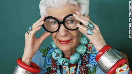 Style icon Iris Apfel, 96, is now a (wrinkle-free) Barbie doll