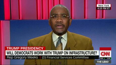 Meeks: Trump's infrastructure plan 'not enough'