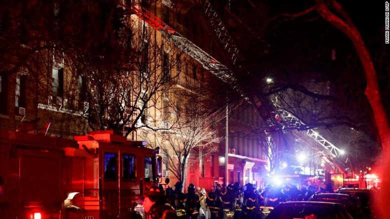 Video shows aftermath of NYC blaze
