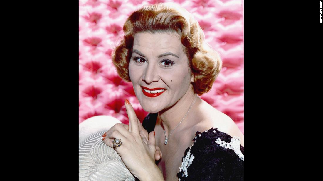 "Broadway and television actress <a href=""http://www.cnn.com/2017/12/28/entertainment/rose-marie-dies/index.html"">Rose Marie</a>, best known for her role as Sally Rogers on ""The Dick Van Dyke Show,"" died December 28, her publicist said, citing her family. She was 94."