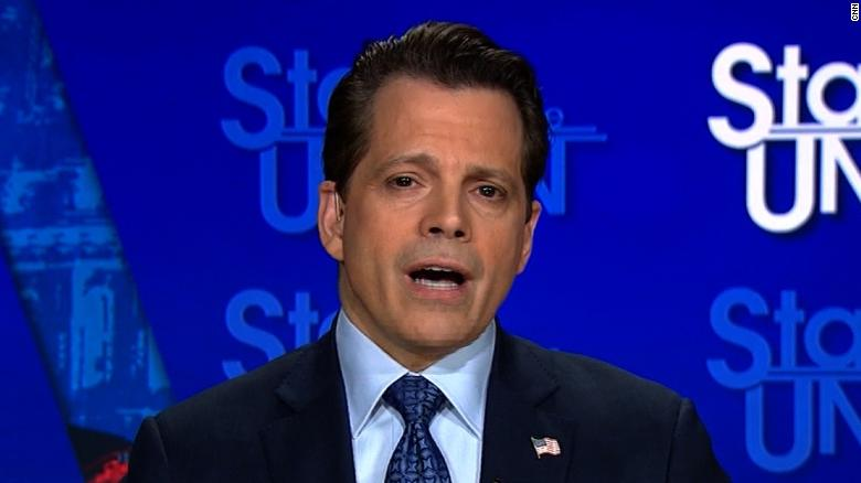 Scaramucci: Ask Trump his climate change views