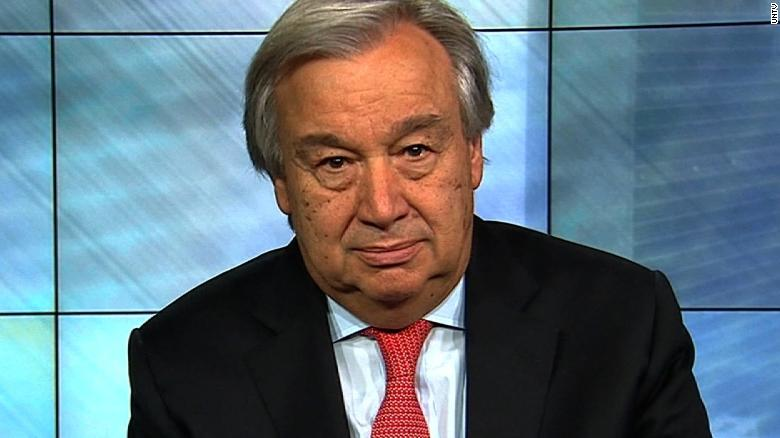 UN chief issues 'red alert' for the world
