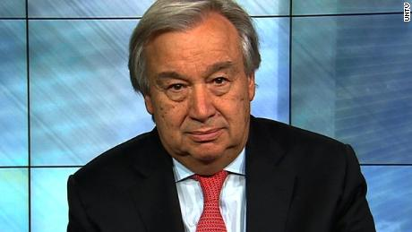 "(UNTV) - In his New Year's message, the Secretary-General of the United Nations, António Guterres said ""I am not issuing an appeal. I am issuing an alert -- a red alert for our world.""   Full soundbite and shot list for FILE footage under script tab."