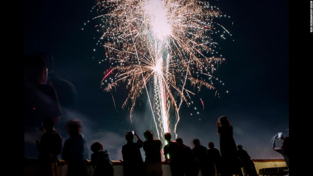 Foto-foto Kemeriahan Tahun Baru di Seluruh Dunia