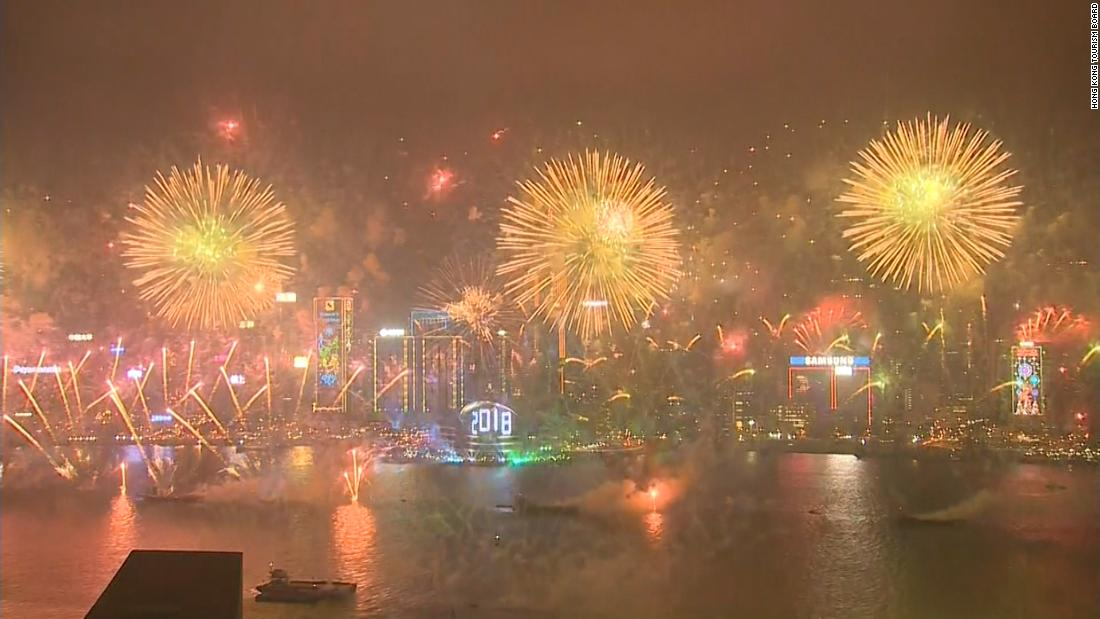 Follow the New Year around the world