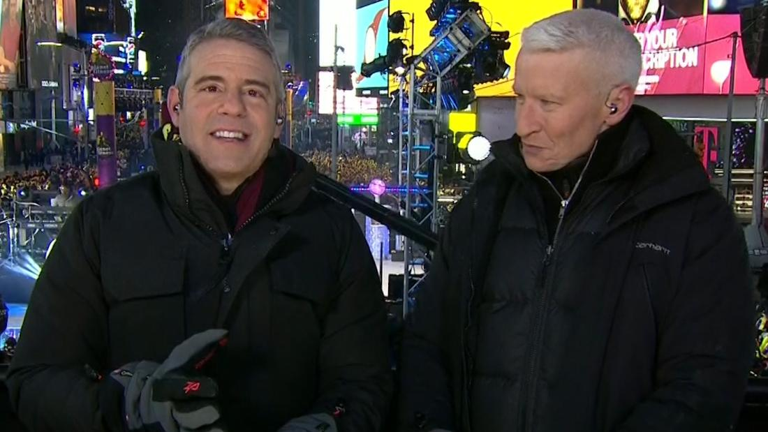 Anderson Cooper and Andy Cohen's wild new year - CNN Video